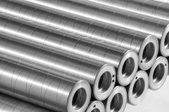 Steel Printing Cylinders stock photos