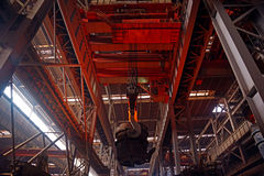 Steel production workshop Royalty Free Stock Photography