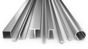 Steel products Royalty Free Stock Photo
