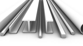 The steel products stock video