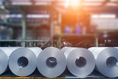 Steel products Stock Photography