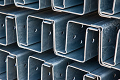 Steel profiles Royalty Free Stock Photos