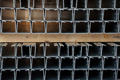 Steel profiles Stock Images