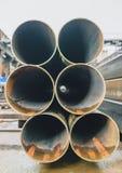 Steel profiles Royalty Free Stock Image