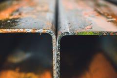 Steel profiles Stock Photography