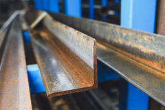 Steel profiles Royalty Free Stock Images