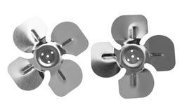 Steel propeller set Royalty Free Stock Photo