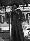 Steel Pulse. British reggae band, perform live on stage in London on April 30, 1978 Royalty Free Stock Photo