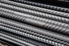 Steel  rebar Royalty Free Stock Images