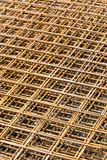 Rebar grid background Stock Photo