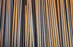 Steel Rebar Textured Background Stock Images