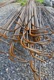 Steel rebars Royalty Free Stock Images