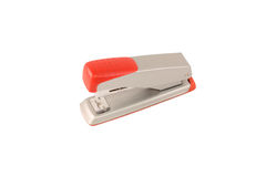 Steel red  stapler Stock Image