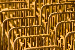 Steel reinforcement Stock Photography
