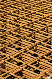 Steel reinforcement Royalty Free Stock Photography