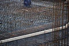 Steel reinforcement Stock Photo