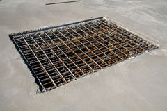 Steel reinforcing bars Stock Photography