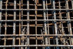 Steel reinforcing bars Stock Image