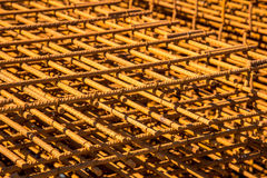 Steel reinforcing bars Royalty Free Stock Photography