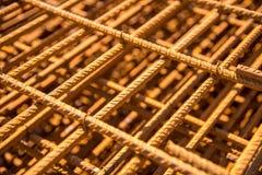 Steel reinforcing bars Stock Photos