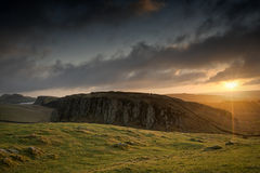 Steel Rigg Sun Royalty Free Stock Images