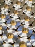 Steel rings for ball bearings royalty free stock image