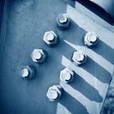 Steel rivets Stock Photo