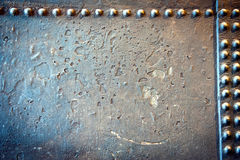 Steel and rivets Stock Photos