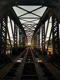 Abondoned railway track Stock Photo