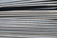 Steel rod Stock Photo