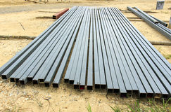 Steel rod for construction job Stock Photography
