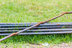 Steel rod Royalty Free Stock Image