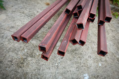 Steel rod bar for building construction Royalty Free Stock Photo