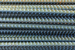 Steel rod for construction , bangkok in Thailand Royalty Free Stock Photo