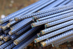 Steel rod for construction job Royalty Free Stock Photos