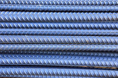 Steel rod for construction job Stock Photos