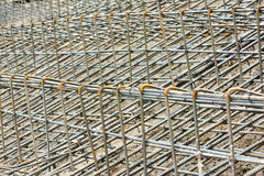 Steel rod for construction Royalty Free Stock Image