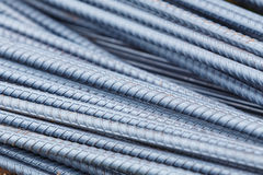 Steel rod for construction job Stock Photo