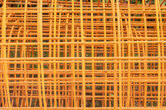 Steel rod for construction job. Texture Stock Photos