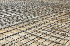 Steel rod mesh Stock Image