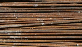 Steel rod Texture Royalty Free Stock Image