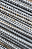 Steel rod texture and background Stock Photos