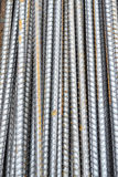 Steel rod texture and background Royalty Free Stock Images