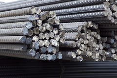 Steel rods Royalty Free Stock Photography