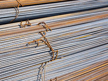 Steel rods Stock Images