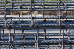 Steel rods Royalty Free Stock Images