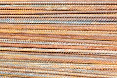 Steel rods, bars background Royalty Free Stock Photo