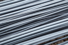 Steel rods or bars Stock Photography