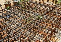 Steel rods Stock Image