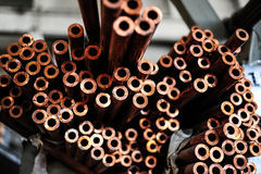Steel rods Stock Image